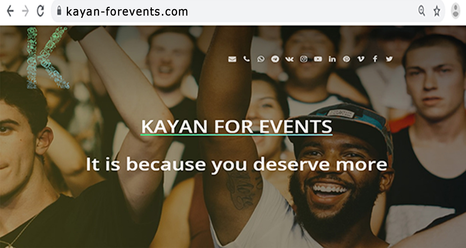 KAYAN FOR EVENTS