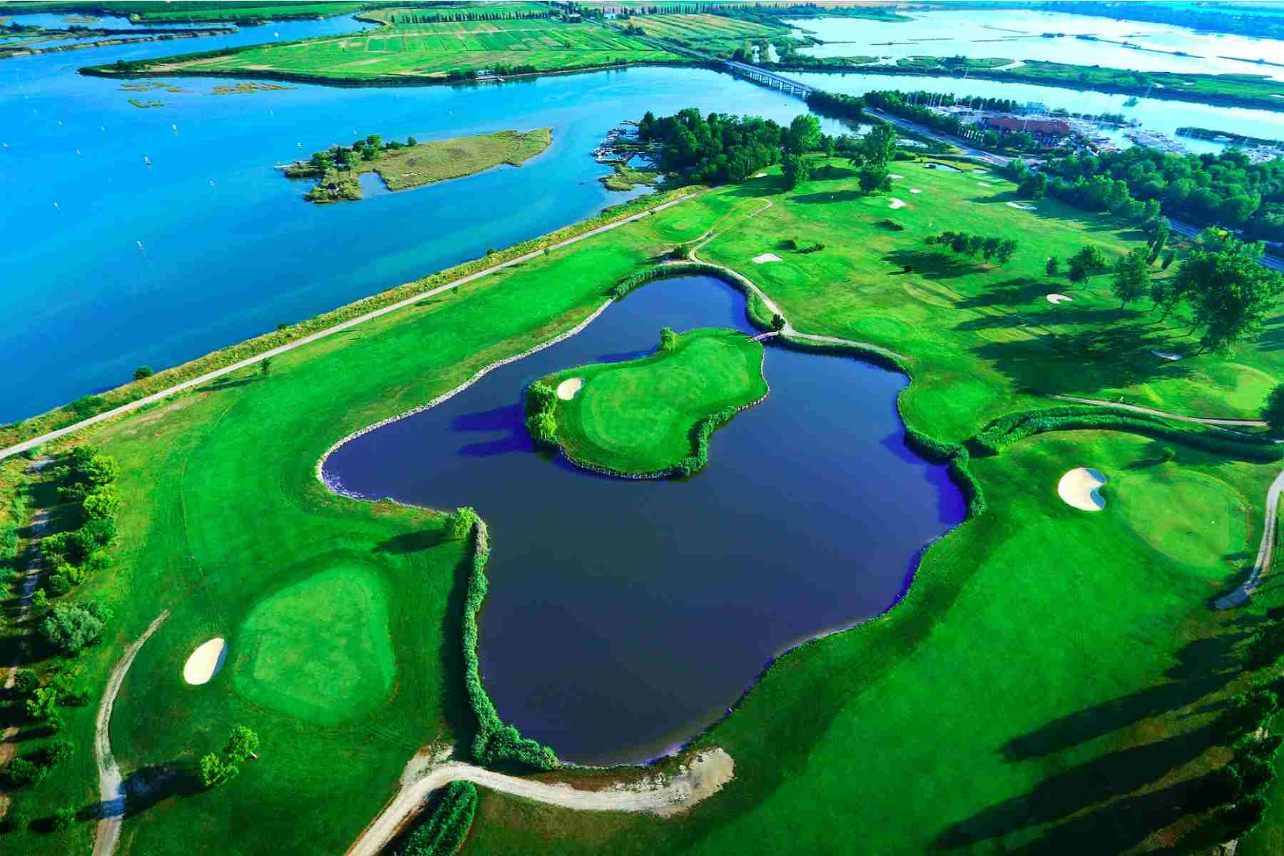 Golf tour in Friuli Venezia Giulia: Collio, Udine, Trieste and Grado - 8 days /7 nights - 4 Rounds in 4 different Golf Courses Wedding Package