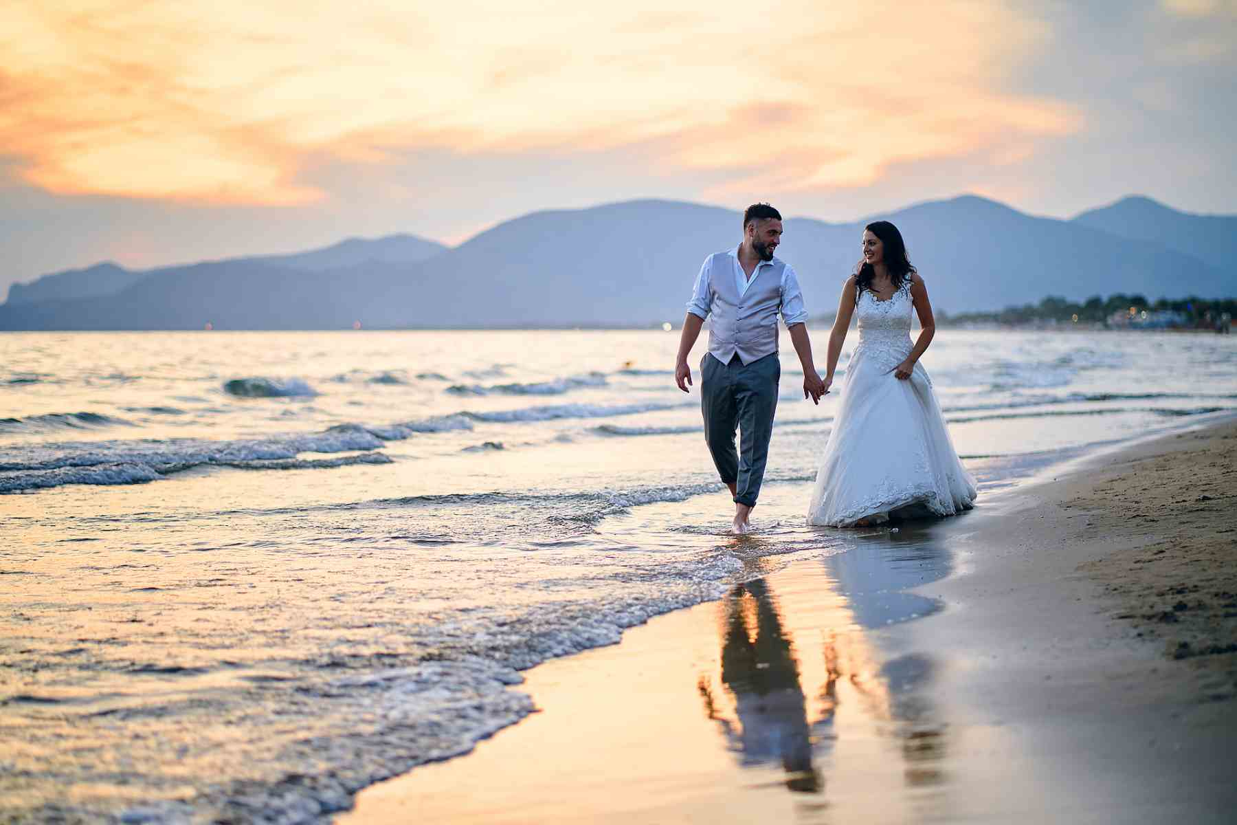 Trash the dress in Sperlonga Wedding Package