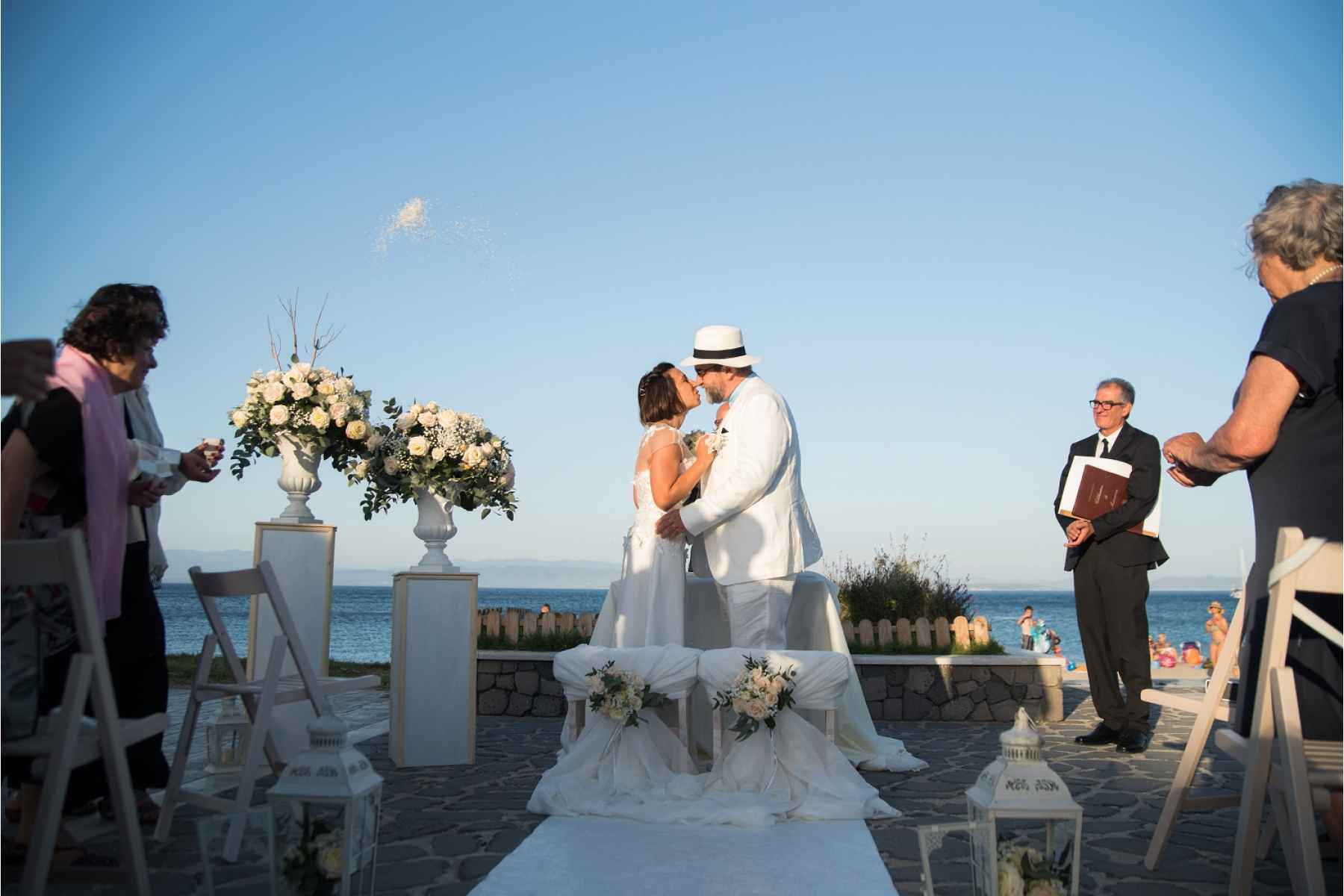 Bride and Groom Romance in Sardinia Wedding Package