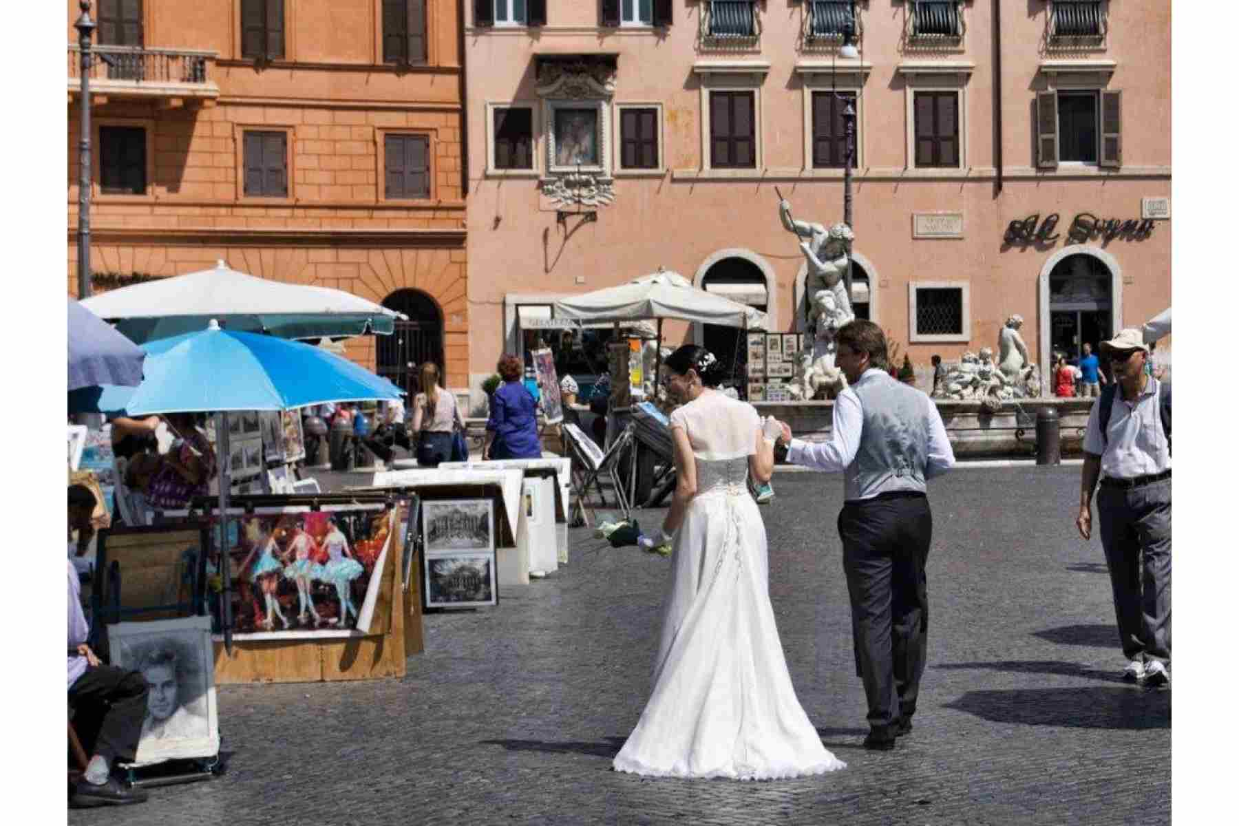 Central Rome Wedding Wedding Package