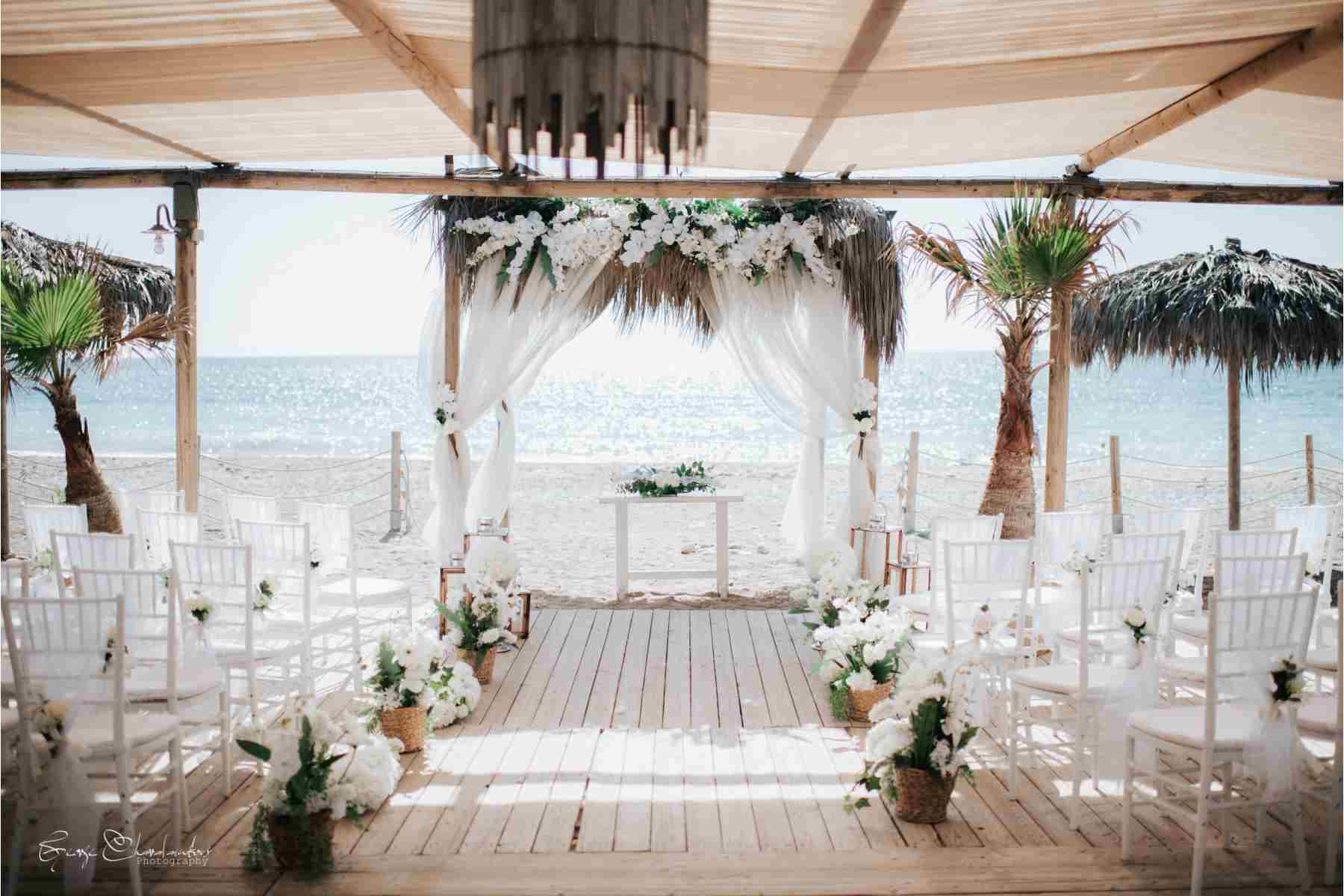 Beach wedding in Cyprus Wedding Package