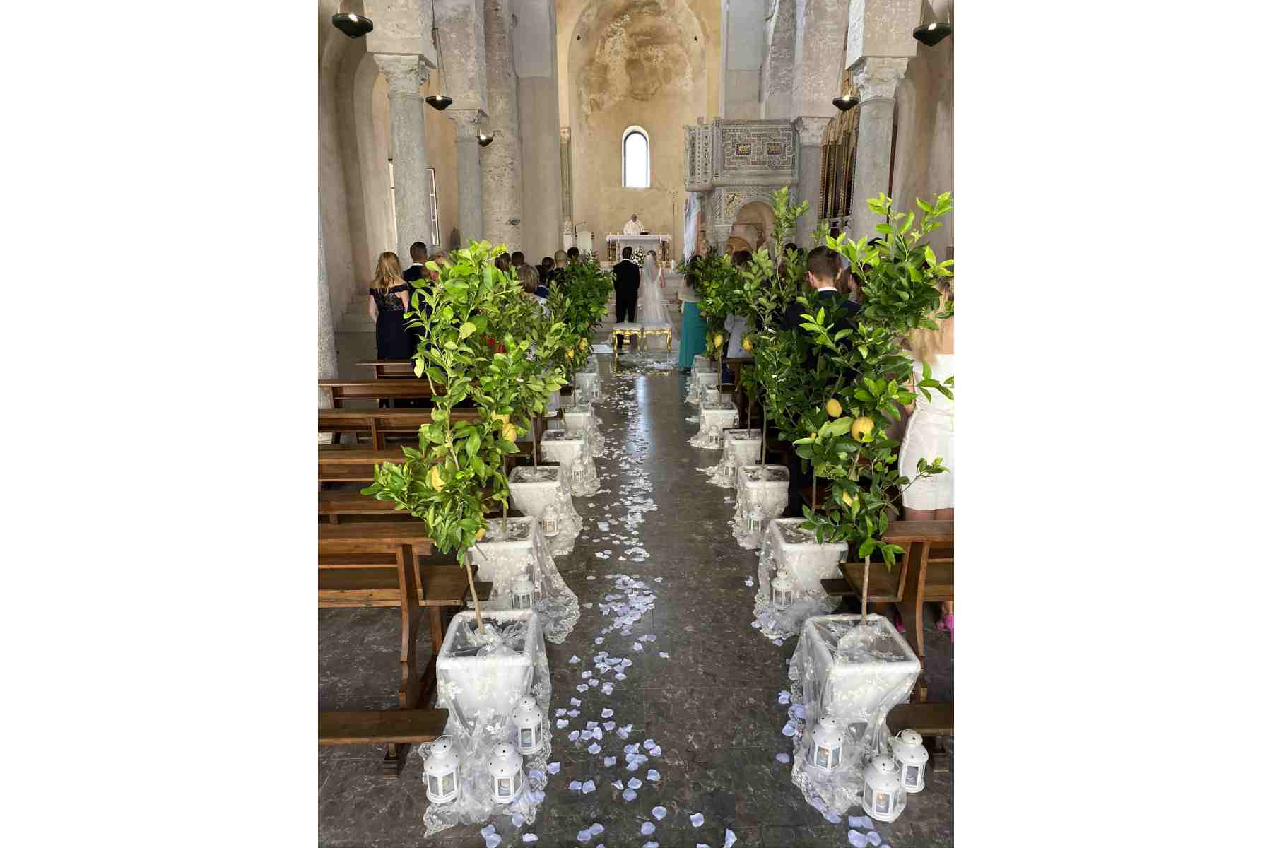 A posh church wedding in Ravello - Amalfi Coast