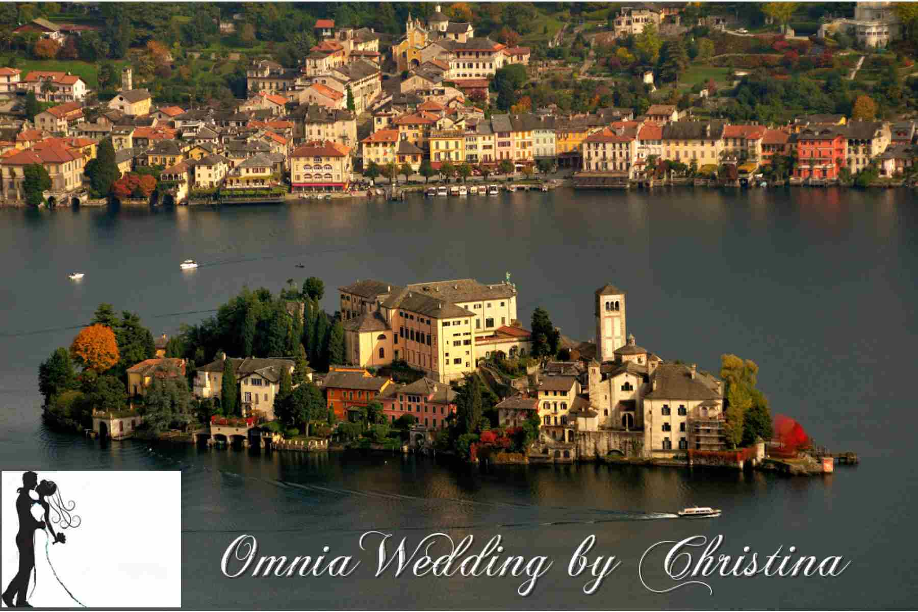 Romantic Elopement on Lake Orta